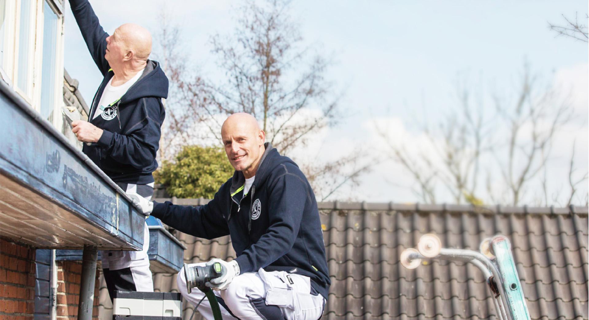 Schilder onderhoud particulier werk in de regio rotterdam for Schilder inhuren per uur
